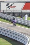 Jorge Lorenzo de l'emballage d'équipe d'usine de Yamaha Images stock