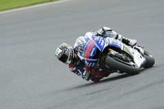 Jorge Lorenzo, généraliste 2014 de moto Photos stock
