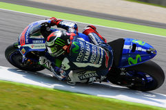 Jorge Lorenzo MOVISTAR YAMAHA MOTOGP at Mugello 2015 Stock Photos