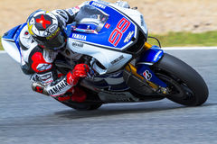 Jorge Lorenzo pilot of MotoGP Royalty Free Stock Photography