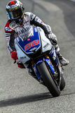 Jorge Lorenzo pilot of MotoGP Stock Photography