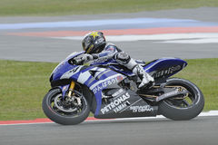 Jorge lorenzo, yamaha, 2011, Stock Photography