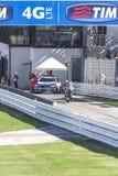 Jorge Lorenzo Yamaha fabryki drużyny ścigać się Zdjęcie Stock