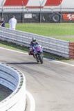 Jorge Lorenzo Yamaha fabryki drużyny ścigać się Zdjęcia Stock