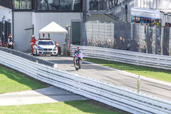 Jorge Lorenzo of Yamaha Factory team racing Stock Photo