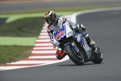 Jorge lorenzo, yamaha, moto gp 2012 Royalty Free Stock Image