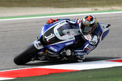 Jorge Lorenzo YAMAHA MotoGP 2011 Stock Images