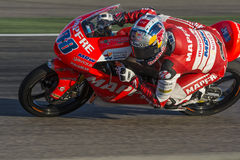 Jorge MARTIN Moto3 Grand Prix Movistar Aragà ³ ν MotoGP Στοκ Φωτογραφία