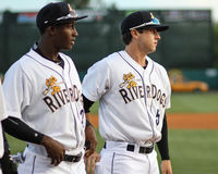 Jorge Mateo and Dustin Fowler, Charleston RiverDogs Stock Photography