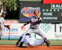 Jorge Mateo steals second base. Stock Photos
