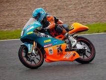 Jorge Navarro pilot of 125cc in the CEV Royalty Free Stock Photo