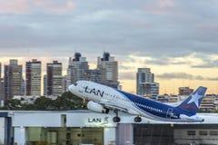Jorge Newbery Airport Argentina Royaltyfria Foton