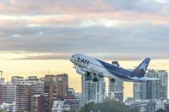 Jorge Newbery Airport Argentina Arkivfoto