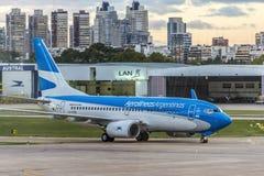 Jorge Newbery Airport, Argentina Fotografia Stock Libera da Diritti
