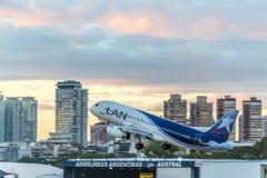 Jorge Newbery Airport Argentina Arkivfoton