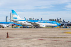 Jorge Newbery Airport, Argentina Royalty Free Stock Image