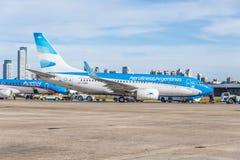 Jorge Newbery Airport, Argentina Stock Image