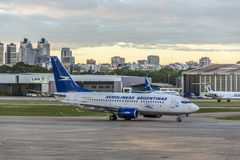 Jorge Newbery Airport, Argentina Royalty Free Stock Photo