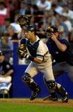 Jorge Posada de los New York Yankees Foto de archivo libre de regalías