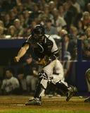 Jorge Posada, gioco 5, 2000 campionati di baseball Immagine Stock