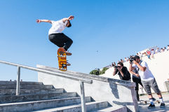Jorge Simoes during the DC Skate Challenge Royalty Free Stock Image