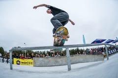 Jorge Simoes podczas 4th sceny DC łyżwy wyzwania Fotografia Stock