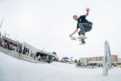 Jorge Simoes during the 4th Stage DC Skate Challenge Stock Photo