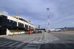 Jorge Wilstermann International Airport in Bolivia Royalty Free Stock Photos