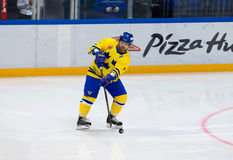 Jorgen Pettersson (7) w akci Zdjęcie Royalty Free