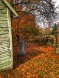 Jork cmentarz Zdjęcia Royalty Free
