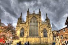 Jork ministra katedra Wielki Brytania fotografia stock