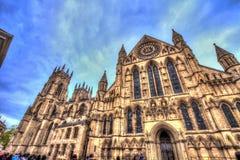 Jork ministra katedra Wielki Brytania zdjęcia stock
