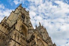 Jork ministra Katedralny niski kąt Obraz Royalty Free