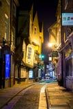 JORK, UK - MARZEC 30: Bałagan jest poprzednich masarek ulicą ja Obrazy Royalty Free