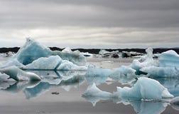 Jorkursalon glacier Stock Images