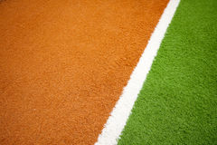 Jorky ball field Royalty Free Stock Photography