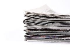Jornais Foto de Stock Royalty Free