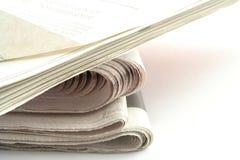 Jornais Fotografia de Stock