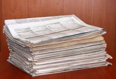Jornais Imagens de Stock Royalty Free