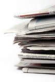 Jornais Fotografia de Stock Royalty Free