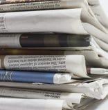 Jornais - imagem conservada em estoque Imagem de Stock Royalty Free