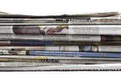 Jornais - imagem conservada em estoque Imagens de Stock