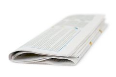 Jornal imagem de stock royalty free