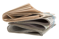 Jornal foto de stock