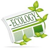Jornal da ecologia. Imagens de Stock Royalty Free