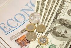 Jornal financeiro Imagem de Stock Royalty Free