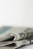 Jornal os media imagens de stock royalty free