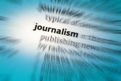 Jornalismo Imagem de Stock