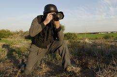 Jornalista fotográfico profissional fotos de stock royalty free