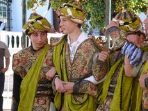 Andalusian Village Festival Royalty Free Stock Photos